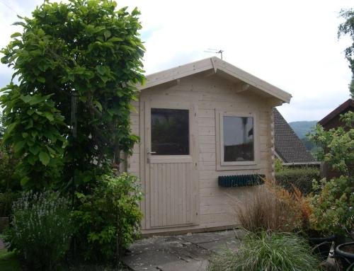 Mr Bird's cabin