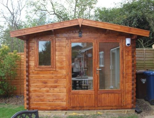 Mr Byrne's cabin
