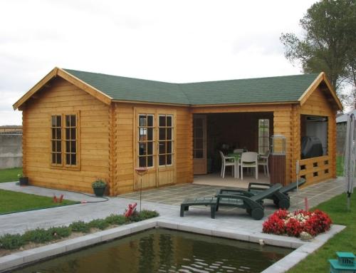Mrs Christie's cabin