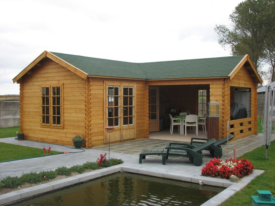 Christie Classic apex roof log cabin