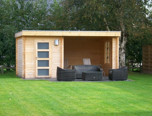 Mrs Dawson's cabin
