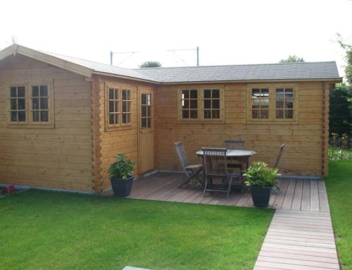 Mr Dunne's cabin