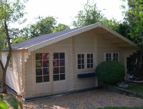 Mrs Earle's cabin