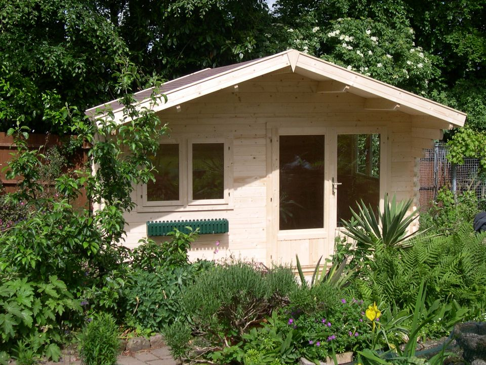 Gardener Classic apex roof log cabin