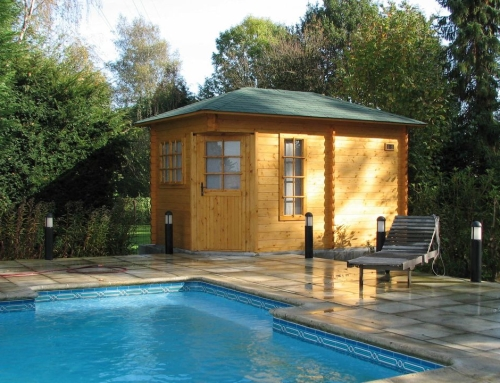 Mrs Glover's cabin