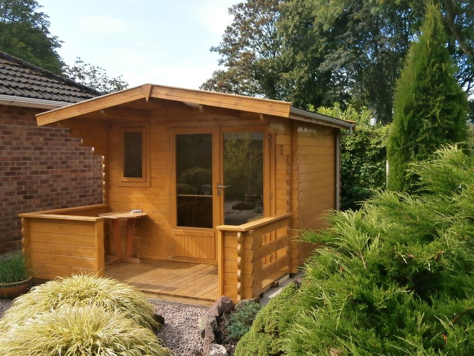Griffiths Classic apex roof log cabin