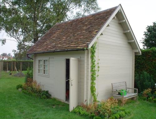 Mr Hodge's cabin