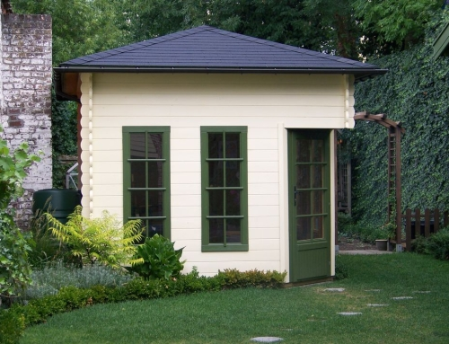 Mr Hudson's cabin