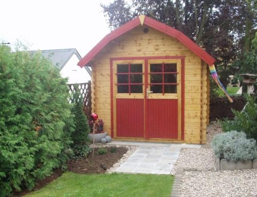 Mr Hunter's cabin
