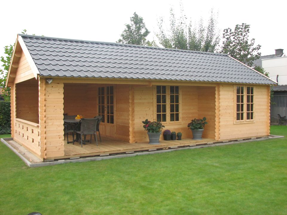 Kelly Classic apex roof log cabin