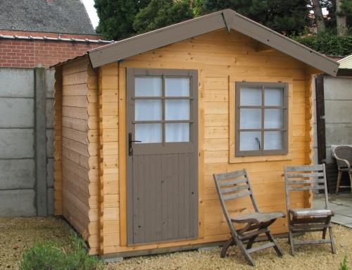 Mrs Knox's cabin