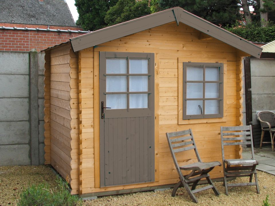 Knox Classic apex roof log cabin