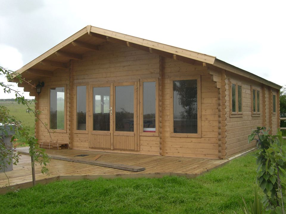 Kerby Classic apex roof log cabin