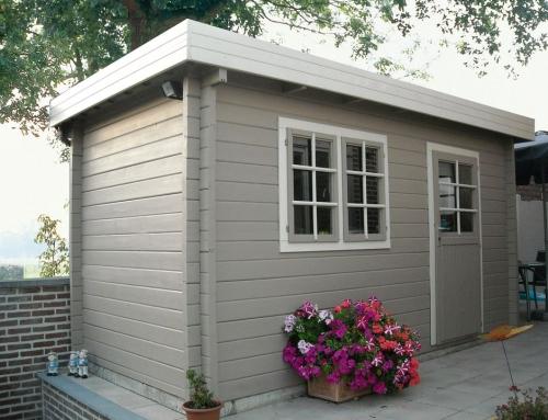 Miss Laird's cabin