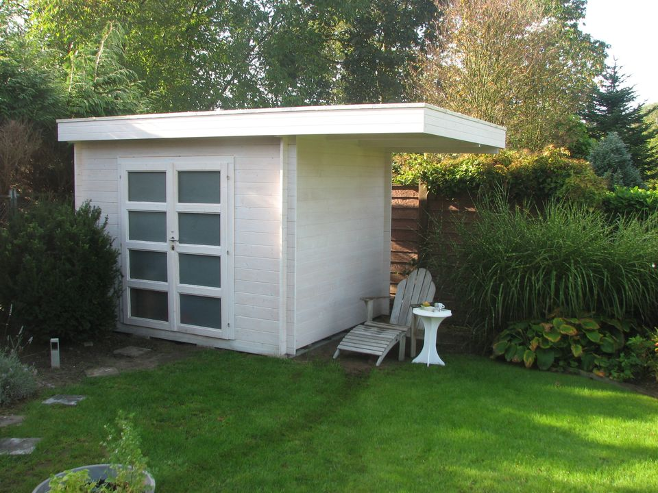 Lang Keops Moderna flat roof log cabin