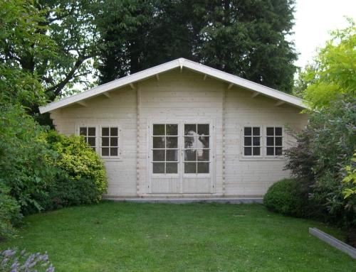 Mr Large's cabin