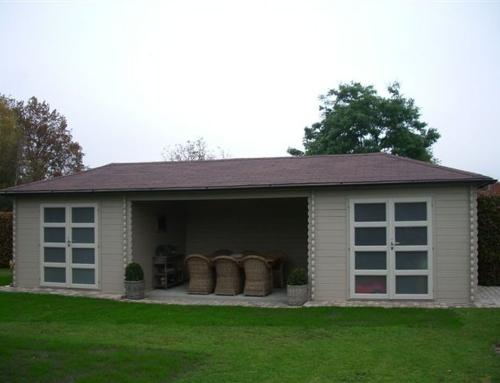 Mr Little's cabin