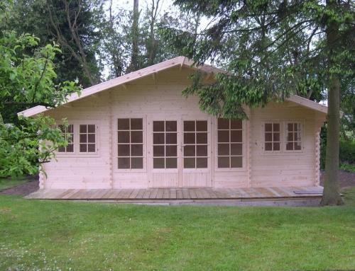 Mr Minton's cabin