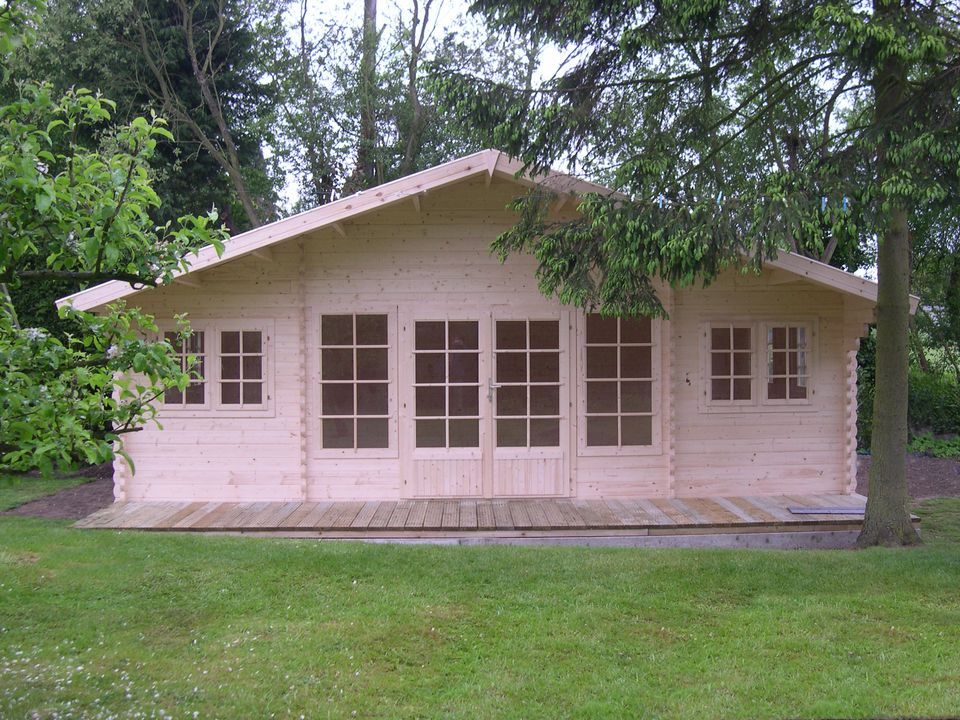 Minton Classic apex roof log cabin