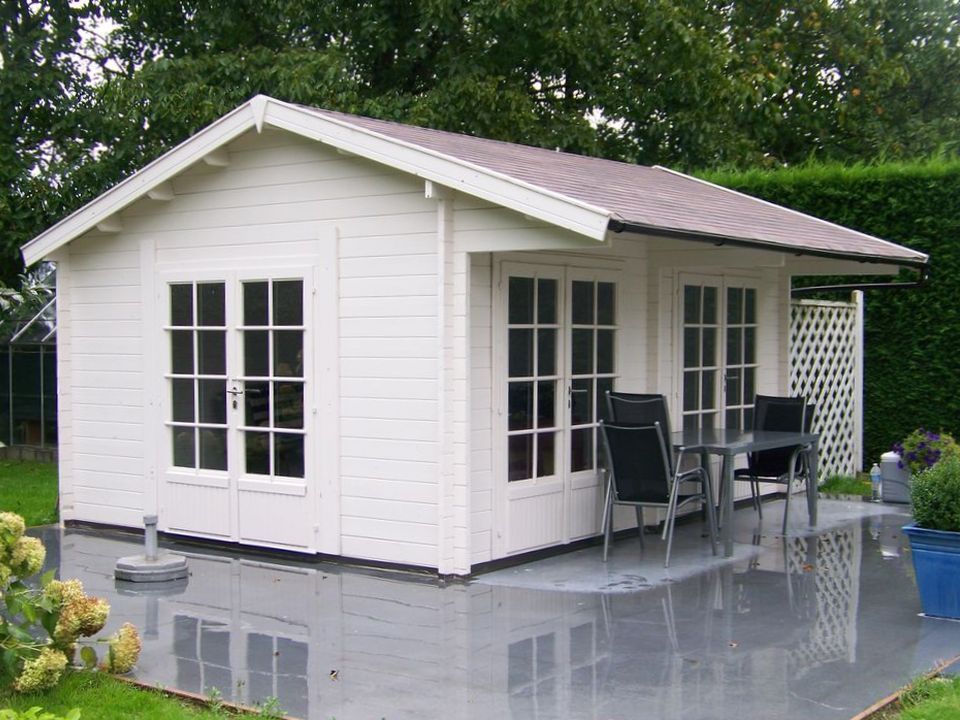 Raj Classic apex roof log cabin