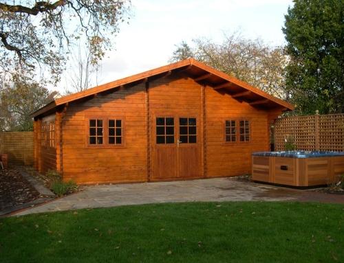 Mr Stewart's cabin