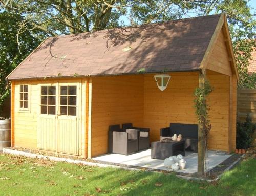 Mrs Twining's cabin