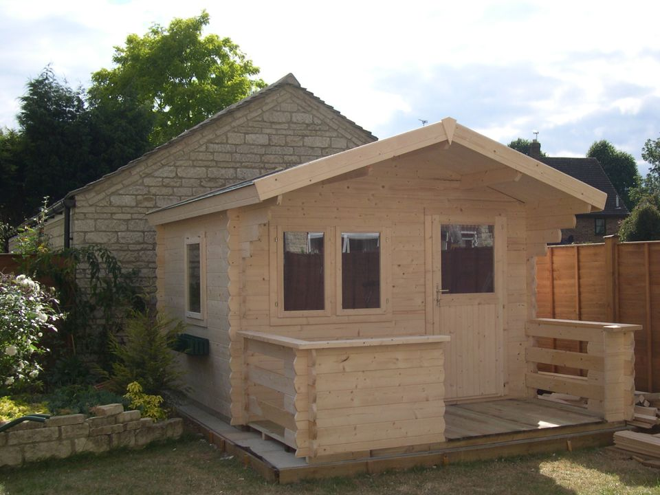 Ward Classic apex roof log cabin