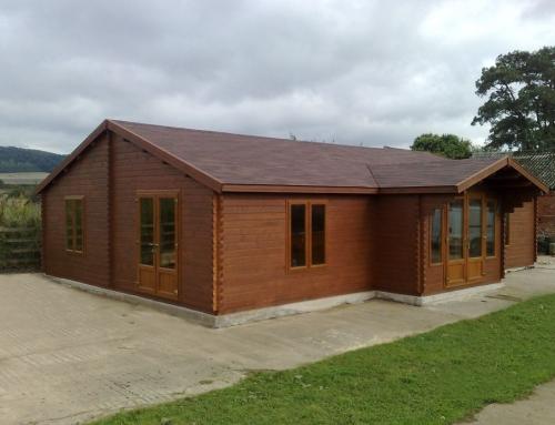 Mr Garside's cabin