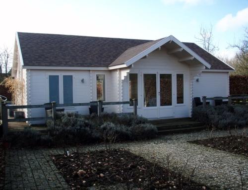 Mr Robinson's cabin