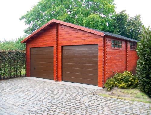 Mr Brennan's garage
