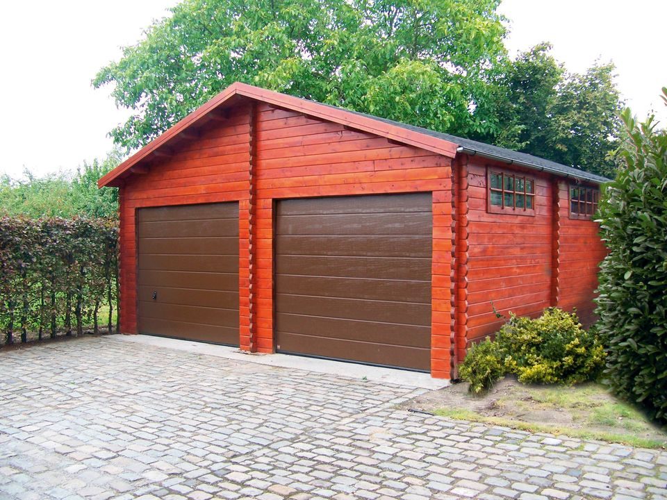 Brennan Keops Classic timber double garage