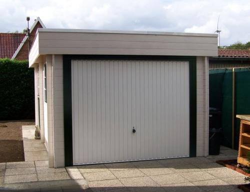 Mr Burton's garage