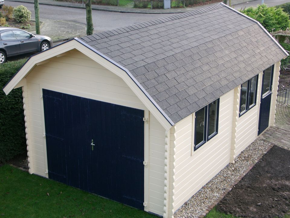 Carter Keops Dutch roof single garage workshop