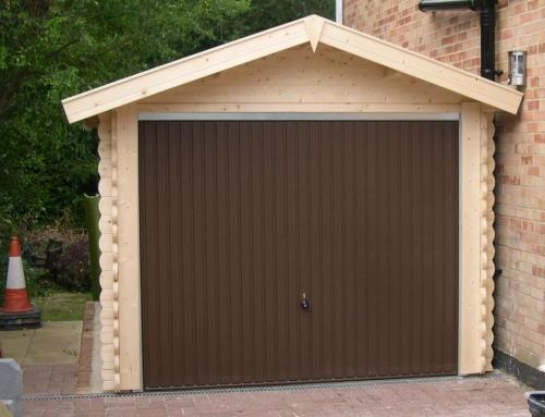Mrs Charles's garage