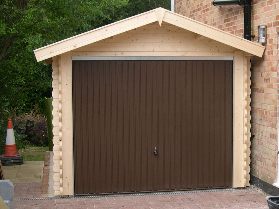 Charles Keops Classic timber single garage