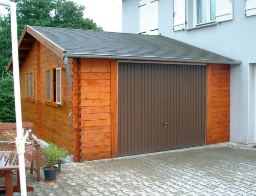 Mr Gibb's garage
