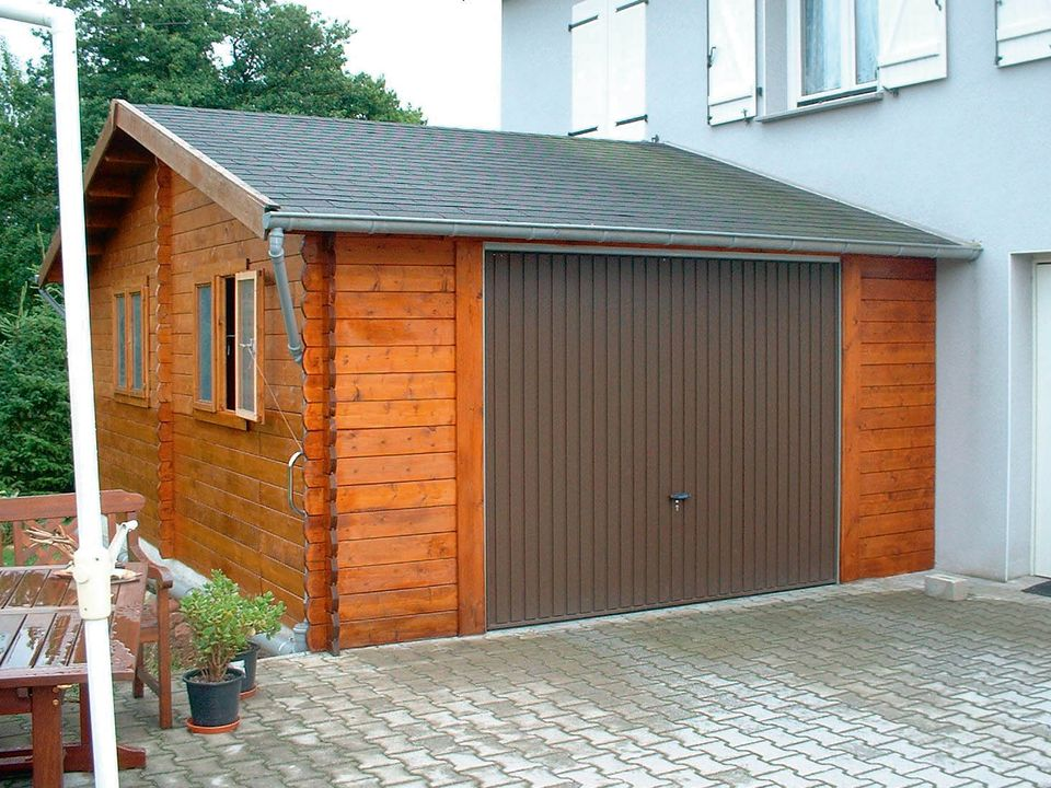 Gibb Keops Classic timber single garage
