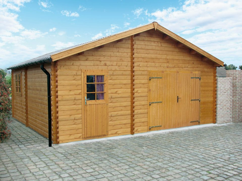 Lester Keops Classic timber single garage & workshop