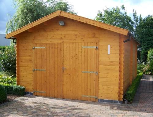Mrs Nuttall's garage