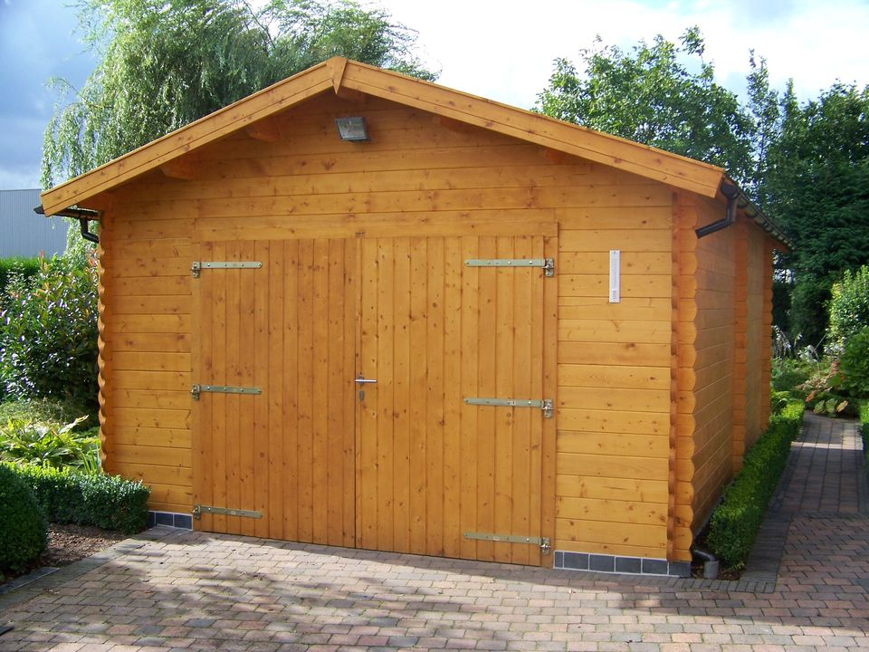 Nuttall Keops Classic timber single garage