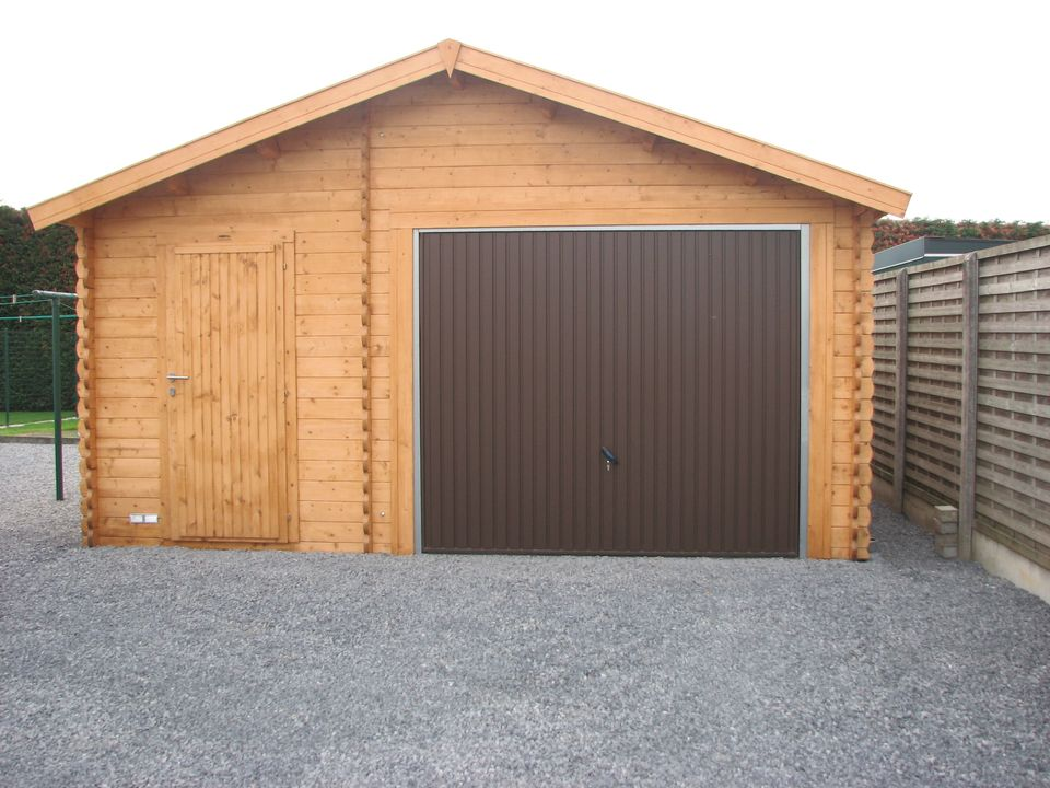 Owen Keops Classic timber single garage & workshop