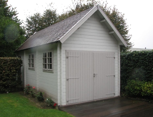 Mrs Parry's garage