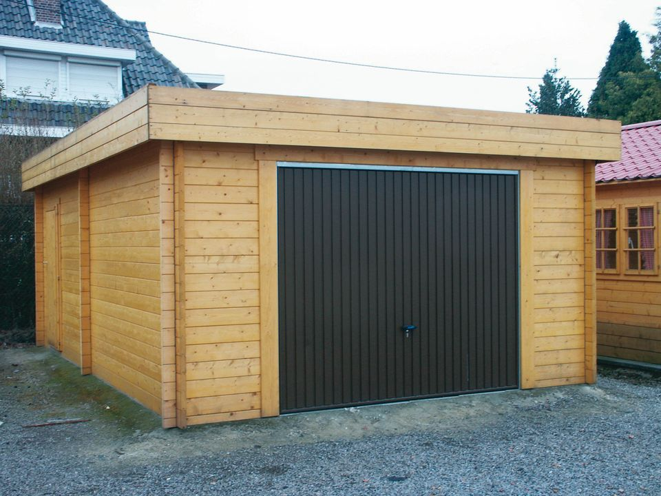 Royse Keops Moderna flat roof single garage