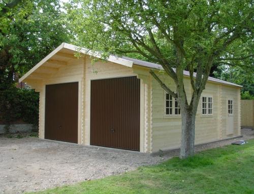 Mr Stevenson's garage