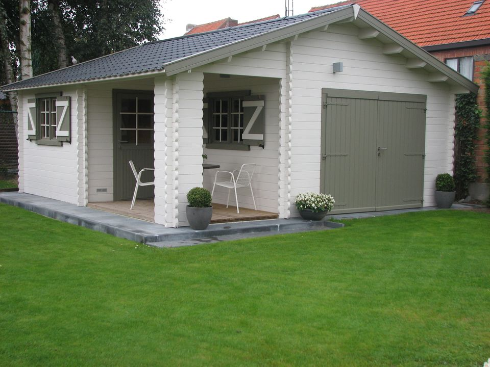 Strong Keops Classic timber garage workshop & summerhouse