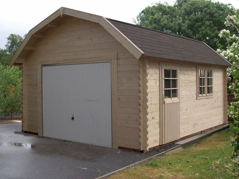 Underwood Keops Dutch roof single timber garage