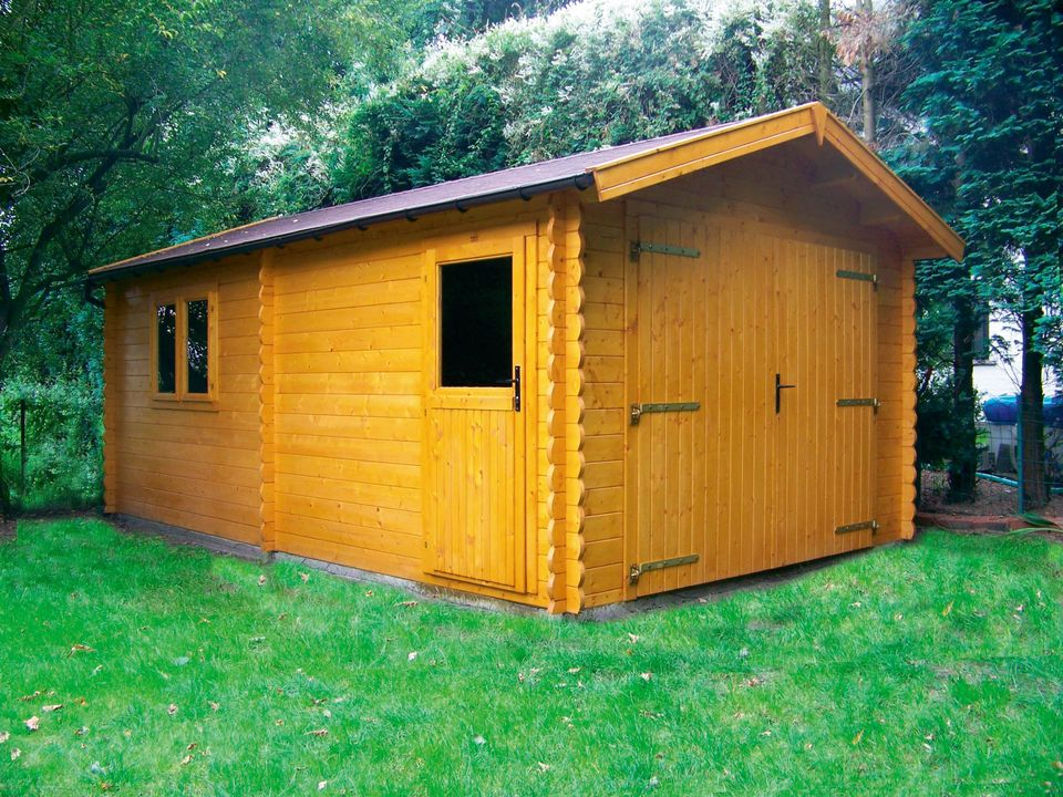 Whitehouse Keops Classic timber single garage
