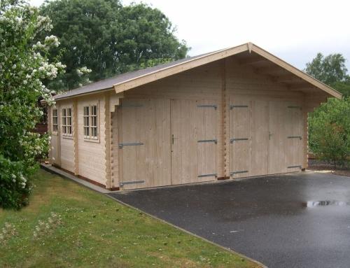 Mr Wood's garage