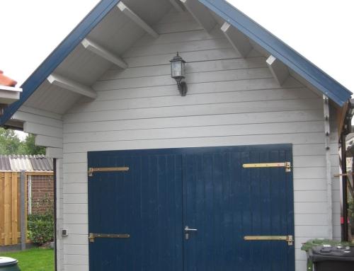 Mr Worrall's garage