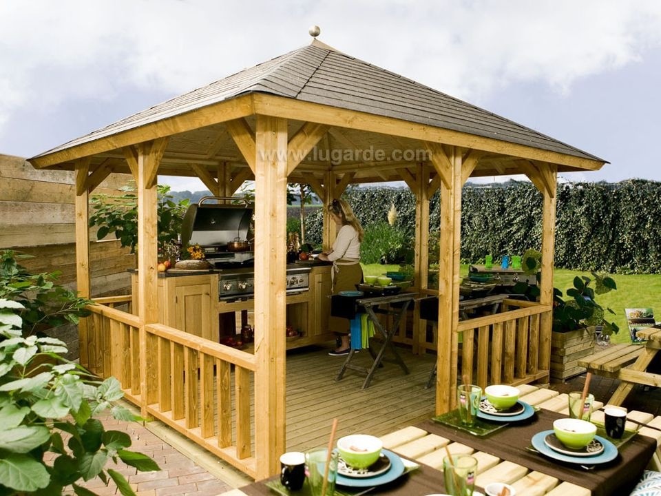 Lugarde Hawai gazebo